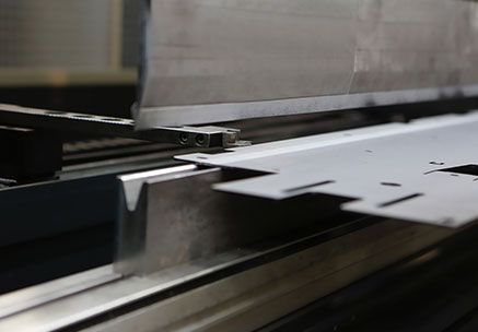 Steel sheet bending